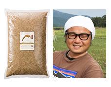 熊本 自然栽培 大森博さんのお米「天日掛け干し」