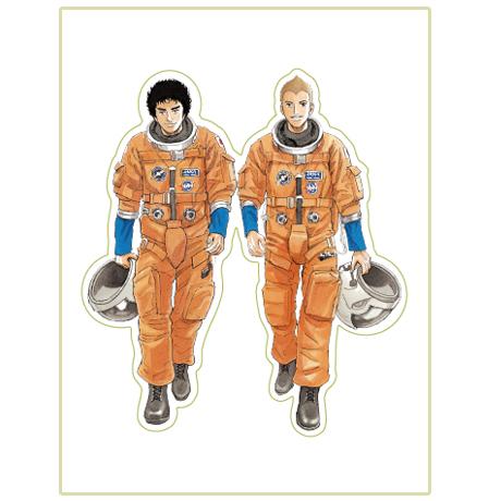 いつかこの姿がみたい宇宙兄弟ステッカー