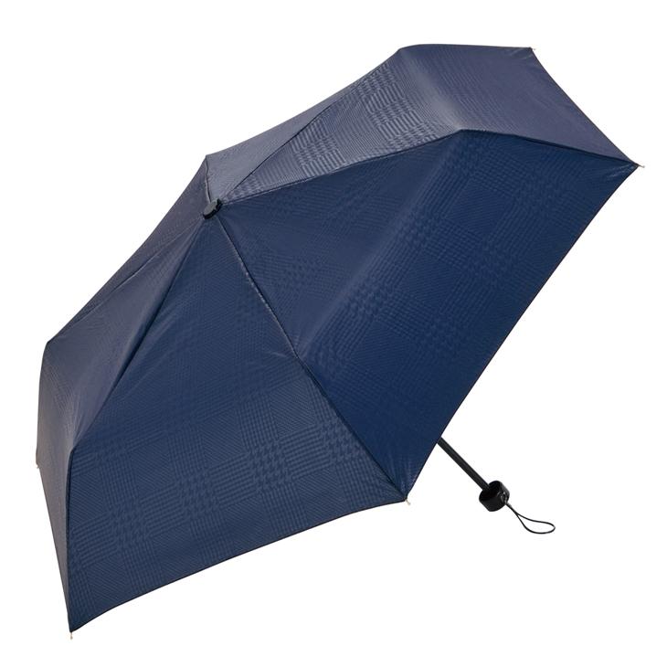 折りたたみ傘&傘カバーセット ネイビー