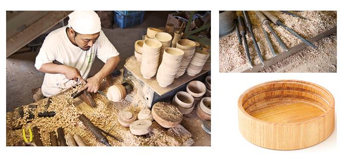 山中漆器産地で培われた高い技術